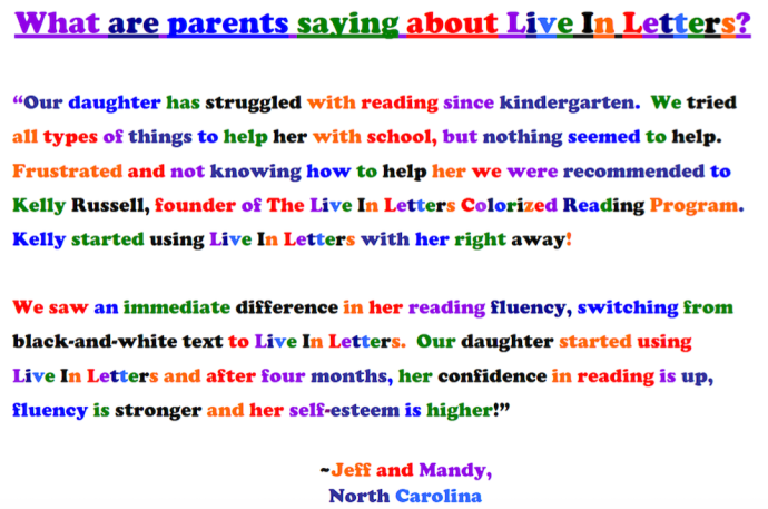 Parent Testimonials
